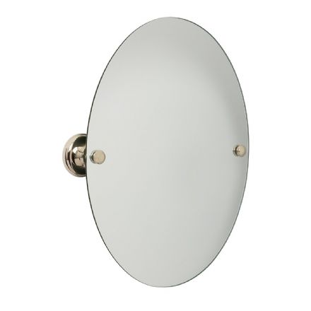 Croydex Grosvenor Gold Flexi-Fix Mirror